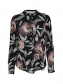 Costamani Lexis Feather shirt - Black