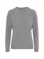 Chopin Dacia cashmere turtel-neck - Grey melange