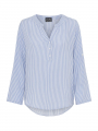 Chopin Klara stripe shirt - Light blue