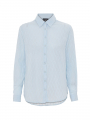 Chopin Mercy solid L/S shirt - Light blue