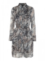 Chopin Fleur animal dress - Brown