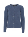 Chopin Dacia cashmere cardigan - Denim blue