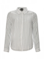 Chopin Pia stripe shirt - White