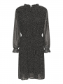 Chopin Agnete dot dress - Black
