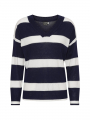 Chopin Ani stripe knit - Blue