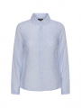 Chopin Ayoe leaves shirt - Light blue