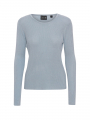 Chopin Angola silk L/S knit - Light blue