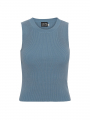 Chopin Beda knit tank top - Blue