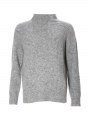 Blue Sportswear Boston cable knit - Grey melange