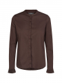 Mos Mosh Mattie shirt - Coffee bean