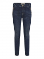 Mos Mosh Etta 7/8 trok jeans - Dark blue denim