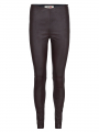 Mos Mosh Lucille stretch leather leggings - Coffee bean