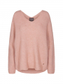 Mos Mosh Thora V-neck knit - Peach beige