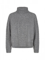 Mos Mosh Marylin knit - Grey melange