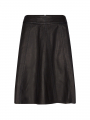 Mos Mosh Adalyn leather skirt - Black