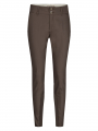 Mos Mosh Blake night pant sustainable - Chocolate chip