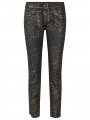 Mos Mosh Sumner animal coated jeans - Gold