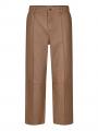 Mos Mosh Como leather pant - Toasted coconut