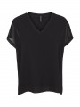 Prepair Caroline S/S top - Black