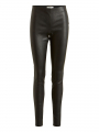 Object Tilde leather leggings - Black