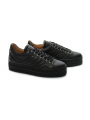 Via Vai Gaber elevation sneakers - Vitello Nero