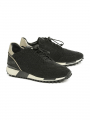 Via Vai Giulia Rox shine temple sneakers - Black