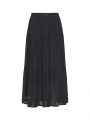 One Two Luxzuz Gabys long skirt - Black