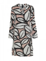 One Two Luxzuz Kathin abstract dress - Vintage rose