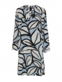 One Two Luxzuz Kathin abstract dress - Ice blue