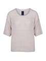 One Two Luxzuz Ulja S/S knit - Pearly