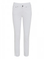 Jonny Q Meryl super 7/8 stretch sateen - White