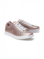 Lacoste Carnaby evo alumix metallic trainers - Natural