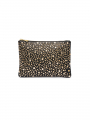 Depeche Nadia studs small bag / clutch - Black / gold