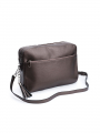 the Rubz Cindy large crossbody - Warm metal