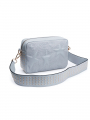 the Rubz Roxana medium studs quilt crossbody - Grey morning