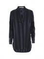 Costamani Lux Max stripe tunic - Blue