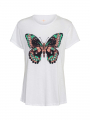 Costamani Butterfly Tee - White