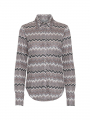 Costamani Nova missoni silke shirt - Grey