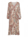 Costamani Aura paisley dress - Nude