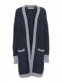 Costamani Beth knit cardigan - Blue/grey