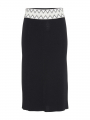 Costamani Colette knit skirt - Black