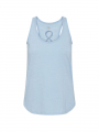 Costamani Racer top - Light blue