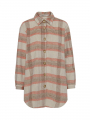 Costamani Check shirt - Sand/rosa