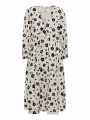 Costamani Mayer flower dress - White/black