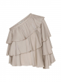 Costamani Chic recycle top - Sand