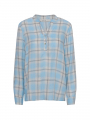 Costamani Alexia check shirt - Blue