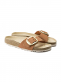 Birkenstock Madrid big buckle FL sandal - Brandy