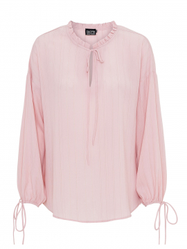 Chopin Katja trible stripe shirt - Rose