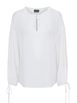Chopin Katja trible stripe shirt - White