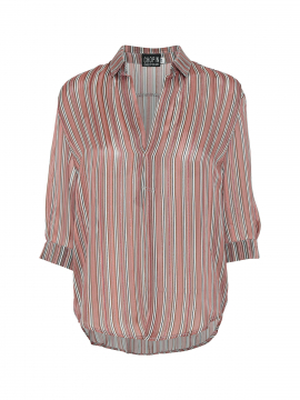 Chopin Fia stripe shirt - Powder